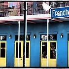 Bright Blue Frenchmen by Cyn Piromalli