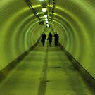 Woolwich Foot Tunnel by Andy Roberts