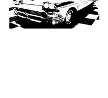 1958 Ford Fairlane Coupe by garts