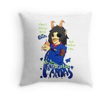 Fandas MaHeri & His Fanta Throw Pillow