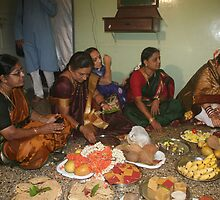 The Gowri Puja by AnIndianWedding