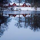 Red lodge by Antoine Beyeler