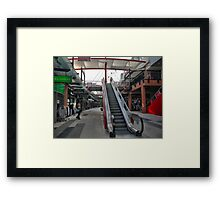 Dawns Hidden Agenda Framed Print