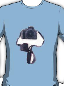 Canon DSLR Camera Watercolor Sticker T-Shirt