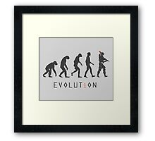 EVOLUT i ON Framed Print