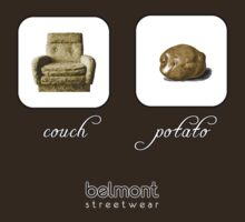couch / potato (dark) by Belmont Streetwear