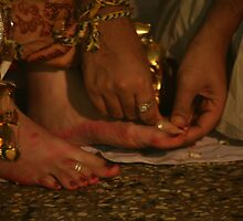 Toe Rings by AnIndianWedding