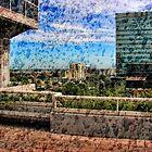 Fort Lauderdale through a Wet Window by GolemAura