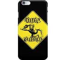 Badass Crossing iPhone Case/Skin