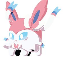 Sylveon Ghost by Andres Flores