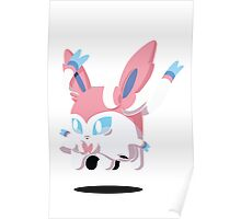 Sylveon Ghost Poster
