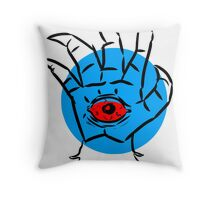 All-Seeing Eye of the Beast Throw Pillow