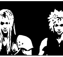Sephiroth and Cloud Photographic Print