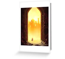 Reunion at the Gates of Heaven Greeting Card