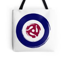 Painted effect mod target with spider middle Tote Bag