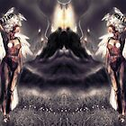 """Ambient Electra [Digital Figure Drawing...Mirrored version] """"Wide Vista"""" by Grant Wilson"""