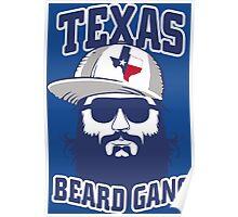 Texas Beard Gang Poster