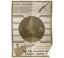 Mass Effect: Join Alliance Poster