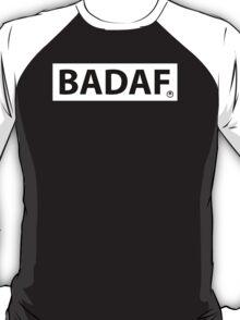 badaf black t-shirt T-Shirt