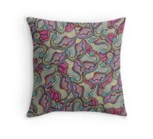 The Gates Of Nereids Throw Pillow
