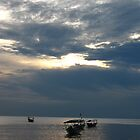 Sunset at Sihanoukville by justineb