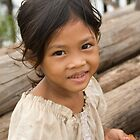 Girl at Kompong Kleang #1 by Adrianne Yzerman