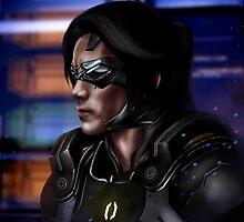 Mass Effect: Kai Leng by spiritius