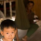 Boy at Kompong Kleang by Adrianne Yzerman