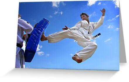 Flying Kick by fotosports