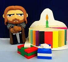 Ned Stark Birthday by FendekNaughton