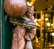 Antique Sports Equipment by Paul Davey