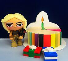 Mini Daenerys Birthday by FendekNaughton