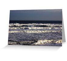 Waves Greeting Card