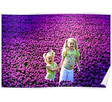 TIPTOE TROUGH THE TULIPS Poster