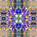 Symmetrical Fantasy Abstract by Phil Perkins