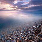 PEBBLE RUSH by outwest photography.co.uk