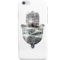Metallic Water Hamsa iPhone Case/Skin