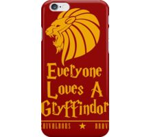 A Chivalrous & Brave Gryffindor iPhone Case/Skin