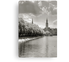 The Alley Metal Print