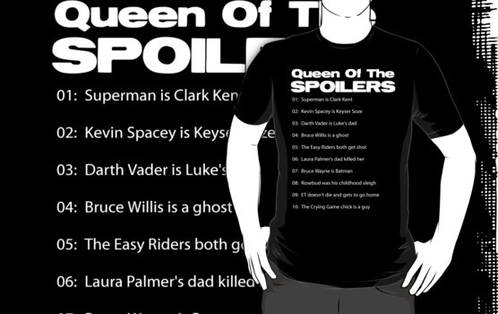 Queen Of The Spoilers by NostalgiCon