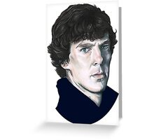 A tribute to Sherlock Greeting Card