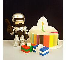 Robocop Birthday Photographic Print