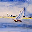 Beautiful Day for Sailing by Kay Gross by CoastalCarolina