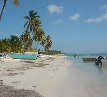 MANO JUAN - One of the SAONA ISLAND fisherman's Village - DOMINICAN REPUBLIC by Daniela Cifarelli