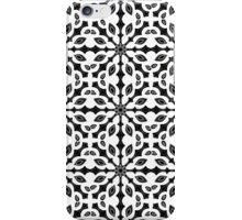 seamless pattern in black and white iPhone Case/Skin