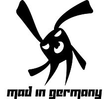 Mad in Germany Photographic Print