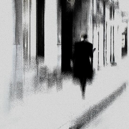 Man in old town by Bluesrose