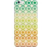 Colorful Circles VI iPhone Case/Skin