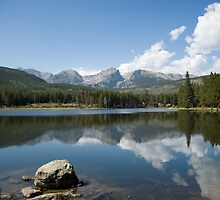 Sprague Lake by Luann wilslef