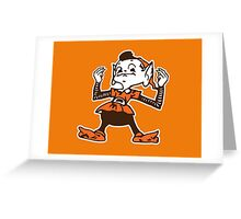 Johnny Manziel Cleveland Browns Elf Greeting Card